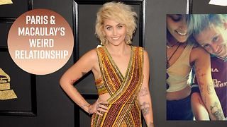 Macaulay Calkin has odd friendship with Paris Jackson - Video