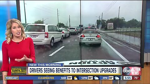 FDOT says drivers now saving time at busy Pasco intersection following improvements