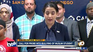 Call for probe into bullying of Muslim student