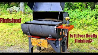 Restoring An Old Smoker/Grill/Rotisserie (Part 3)