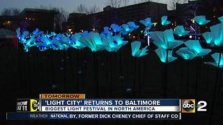 'Light City' returns to Baltimore