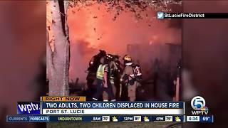 4 people displaced by Port St. Lucie fire