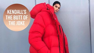 Kendall's coat becomes hilarious viral meme
