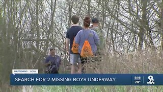 Crews continue Ohio River search for bodies of 2 missing boys