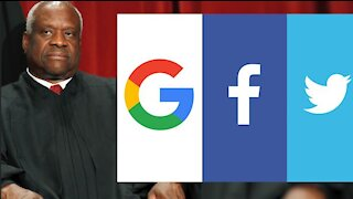 Supreme Court Justice Clarence Thomas Takes Aim At Big Tech Companies