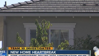 New home heartbreak: Hidden problems - Video
