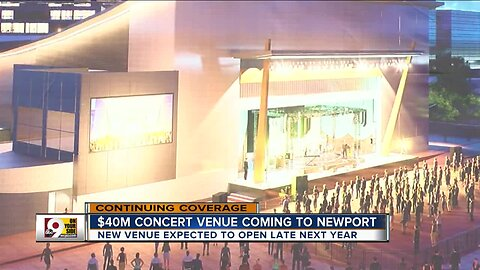 New concert venue coming to Newport