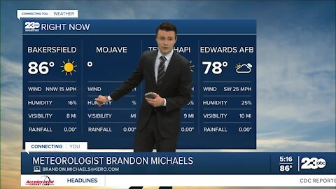 23ABC Evening weather update April 20, 2021