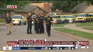 Intruder shoots and kills homeowner in south Tulsa - Video