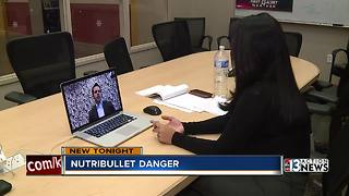Las Vegas woman sues NutriBullet, claiming appliance exploded and sliced her hand