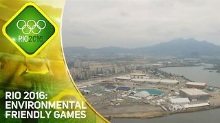 Rio 2016: Brazil goes green for the Olympics - Video