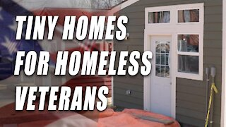 Tiny Homes for Homeless Veterans