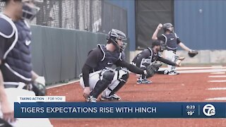 Tigers expectations rise with AJ Hinch