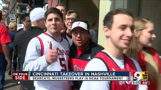 Cincinnati takes over Nashville - Video