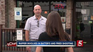 Local Rapper Involved In East Nashville Restaurant Shooting - Video