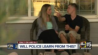 Teen traumatized after run-in with Buckeye police - Video