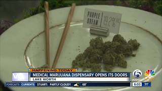 Lake Worth's 2nd medical marijuana dispensary set to open Monday - Video