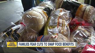 Bay Area families worry about the future of SNAP benefits after President Trump proposes cuts - Video