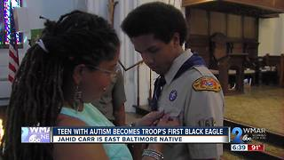 Teen with Autism Becomes Troop's First Black Eagle