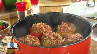 Mr. Food's Test Kitchen: Orzo stuffed peppers