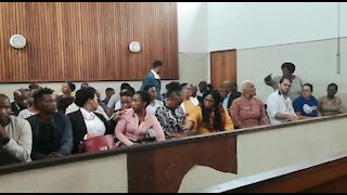SOUTH AFRICA - Durban - Suspect appears in court for killing musician (Videos) (N4A)