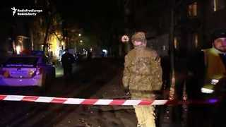 Bomb Detonated Outside Kiev TV Station Kills Two - Video