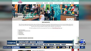Visit Denver releases new beer trail map