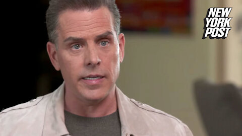 Hunter Biden says laptop at center of Post exposé could 'absolutely' belong to him