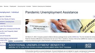 Will there be additional unemployment benefits?