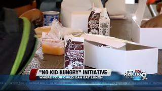Tucson Unified School District offers free meals to children this summer - Video