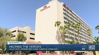 Valley hotel offering free rooms to medical community