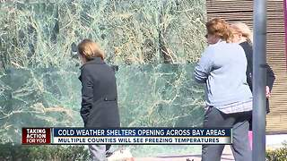 Hernando County shelters prepare for freezing temperatures