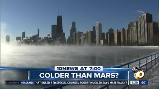Parts of Midwest colder than Mars?