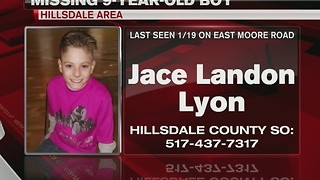 MISSING: Search for 9-year-old is underway