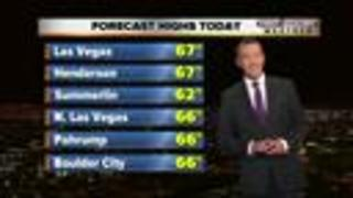 13 First Alert Las Vegas Weather on March 6 Morning - Video