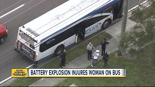 Explosion on Pinellas County bus injures passenger, police say