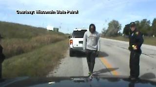 Dashcam video shows Packers rookie running back Aaron Jones' traffic stop - Video