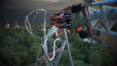 MaxxForce Coaster Is the Fastest Launching Rollercoaster in the US