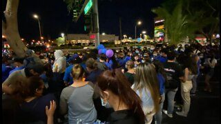 Vigil held for 2 Vegas teens struck, killed by suspected DUI driver