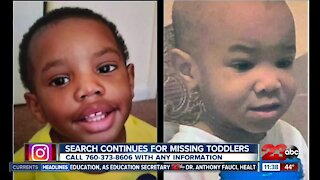 Biological expresses her concerns about missing toddlers in Cal City