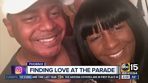 Valley couple finds love at APS Light Parade