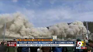 Kentucky's Capital Plaza Tower imploded - Video