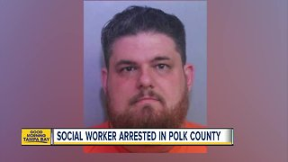 Polk County social services worker arrested on child porn charges