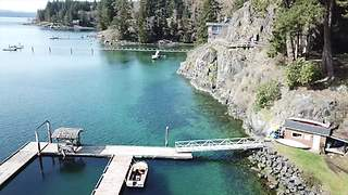 Gorgeous drone footage of BC's Quadra Island - Video