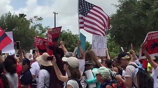 Thousands March in Texas Against Separation of Immigrant Families at the Border - Video