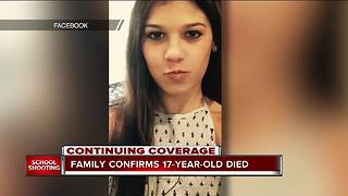 Family confirms 17-year-old died in south Florida school shooting - Video