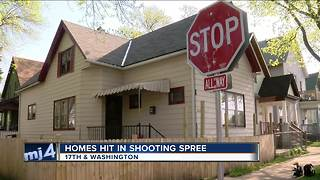 South side homes hit in overnight shooting spree