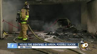 House fire identified as arson - Video