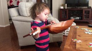Kid Sings Epic Ballad About Chocolate