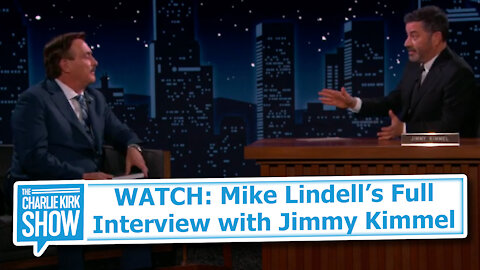 WATCH: Mike Lindell's Full Interview with Jimmy Kimmel